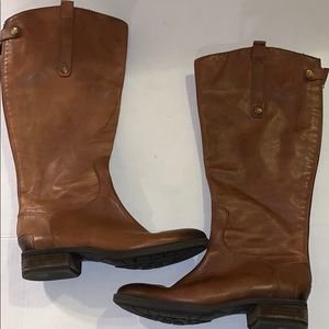 Sam Edelman Penny Riding Leather Boots size-7.5M